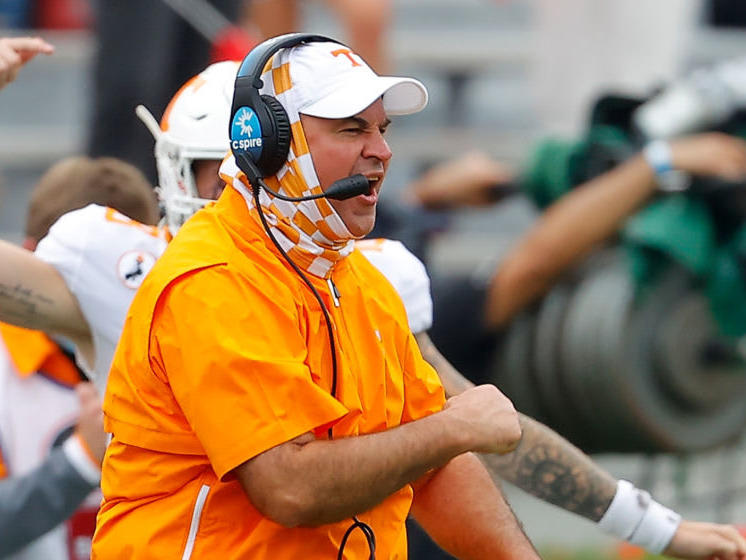 Tennessee Football: Jeremy Pruitt is disappointed, not ...