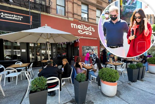 Picture for Prince Harry and Meghan Markle dine at famed Harlem eaterie Melba's