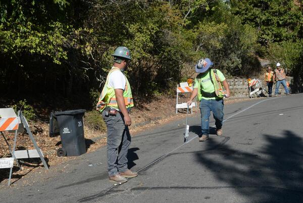 Picture for San Rafael parking spots ease hillside fire risks