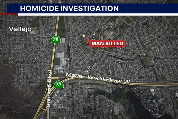 Picture for 33-year-old man killed in Vallejo shooting