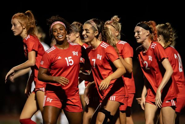 Picture for Rancocas Valley girls soccer outlasts Holy Cross Prep in showdown of top scorers