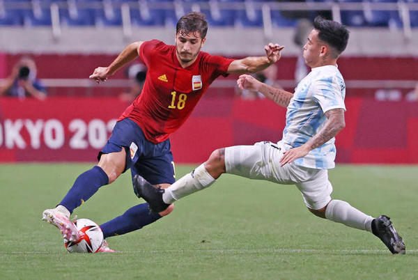Picture for Tokyo Olympic Men's Soccer scores: Spain and Mexico win big to reach semifinals with Japan and Brazil