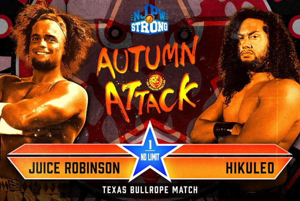 Picture for Texas Bullrope Match Added To Night Two Of NJPW Autumn Attack