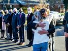 Picture for PHOTOS: Town and county police escort body of Jerry Woods through town