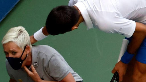 Novak Djokovic Out Of U S Open After Accidental Hit Of Line Judge News Break