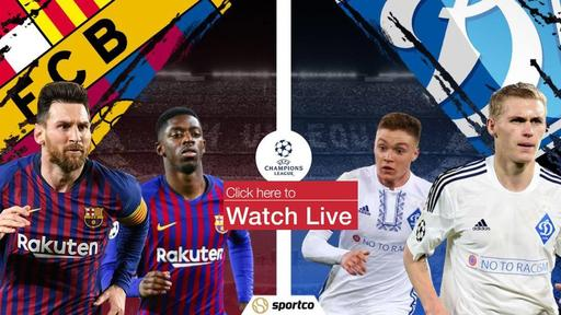 Download Barcelona Vs Dynamo Kyiv Live Stream Free