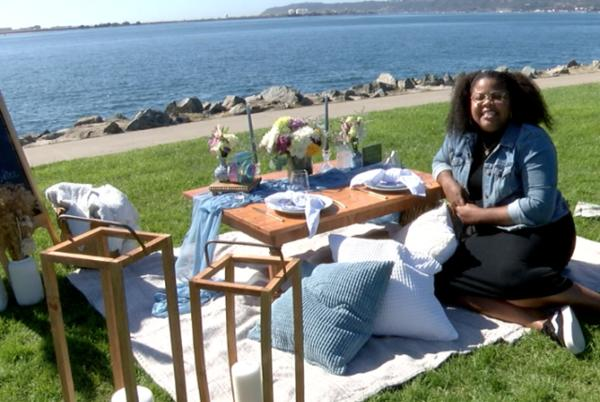 Picture for San Diego Luxury Picnic company thrives during pandemic