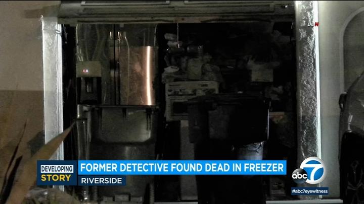 Cover for Woman whose body was found inside freezer of Riverside home ID'd as former homicide detective