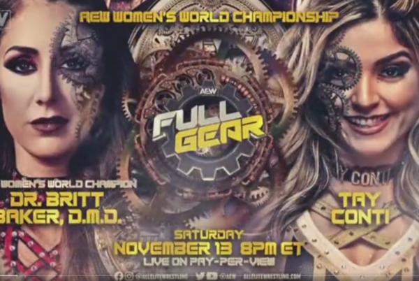 Picture for AEW Women's Championship Match Announced For AEW Full Gear