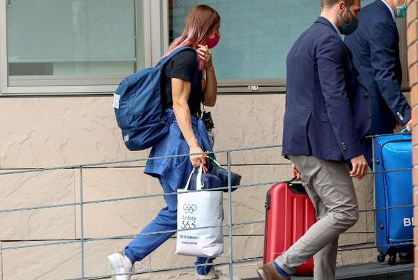 Picture for Poland grants humanitarian visa to Belarusian Olympic sprinter who refused to board flight home
