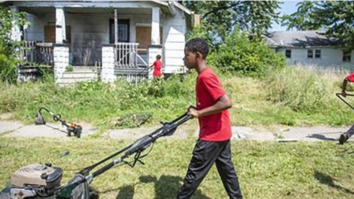 Cover for Kid Brothers Set Up a Lawn Care Business During the Summer and It's a Huge Success
