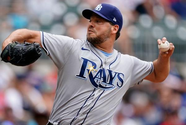Picture for New York Mets acquire Tampa Bay Rays left-hander Rich Hill in three-player deal