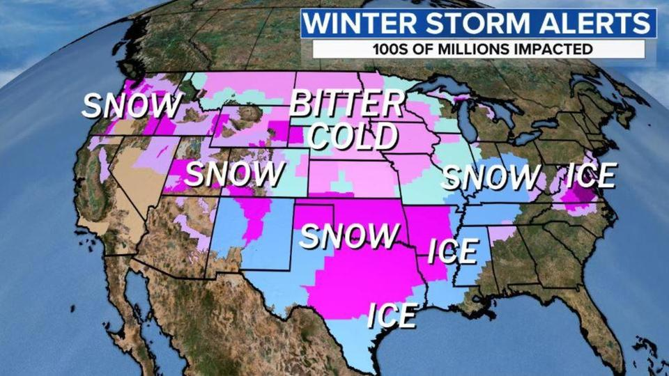 Polar vortex brings most extreme winter weather in years