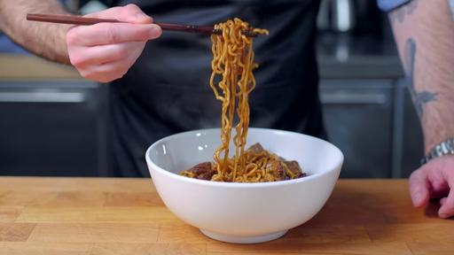 Learn To Cook The Ram Don Dish From Parasite Thanks To Binging With Babish News Break