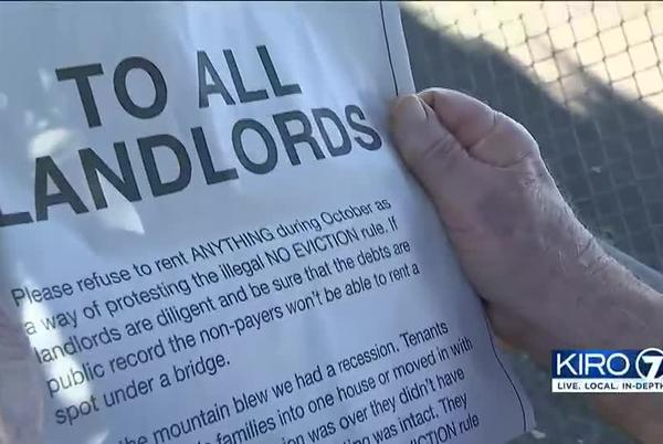 Picture for Longtime landlord takes out full-page ad to decry eviction moratorium