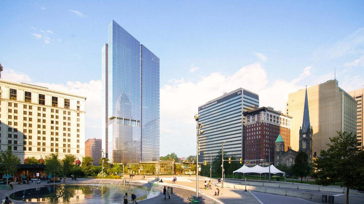 Cover for Sherwin-Williams HQ groundbreaking date set