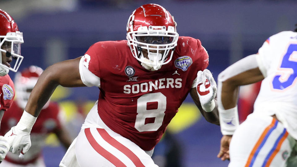 Picture for Oklahoma Trio Named to Bronko Nagurski Trophy Watch List