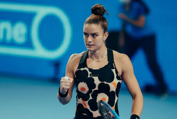 Picture for Kremlin Cup: Maria Sakkari's the highest seed left in the SF in Moscow