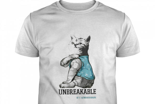 Picture for Cat Tattoo Unbreakable #T1Warrior Shirt
