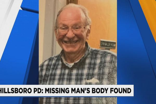 Picture for Missing 85-year-old HIllsboro man with dementia found dead