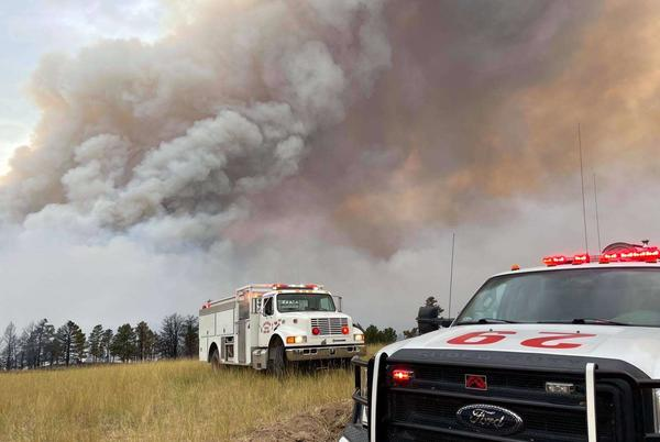 Picture for Disaster Declaration issued for Panhandle wildfires
