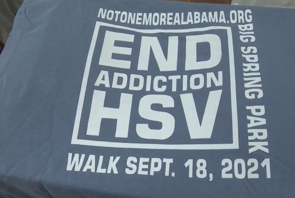 Picture for Addiction resources and support offered at End Addiction HSV Walk