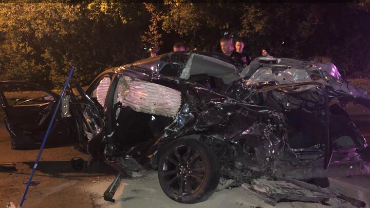 Cover for Fargo police investigate speeding car crash