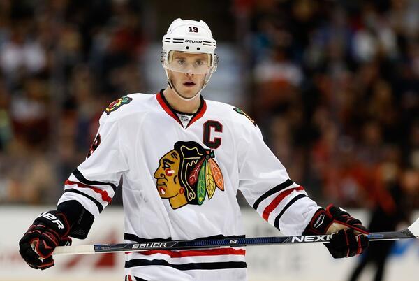 Picture for 'Good Feeling': Blackhawks Captain Jonathan Toews Returns To The Ice