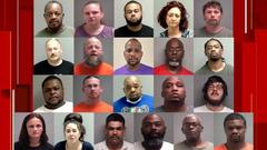 Cover for 21 arrested in connection with 84 drug-related indictments out of Martinsville
