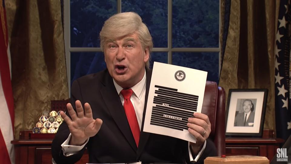 Picture for Trump asked Justice to look into 'SNL': report