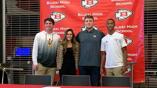 Power Five Trio Signs From Biloxi News Break