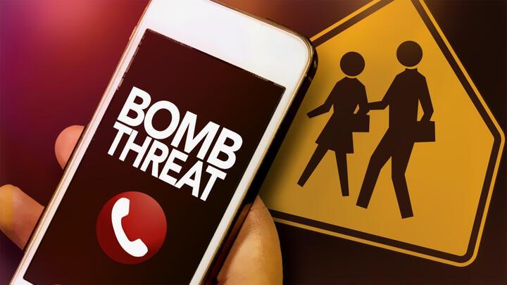 Cover for False Bomb Threats Interrupt School Day