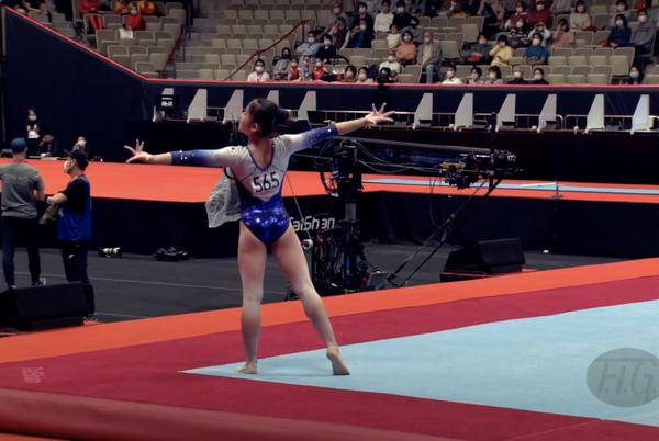 Picture for It's Easy (Come, Easy Go) to Enjoy This Gymnast's Bohemian Rhapsody Floor Routine at 2021 Worlds