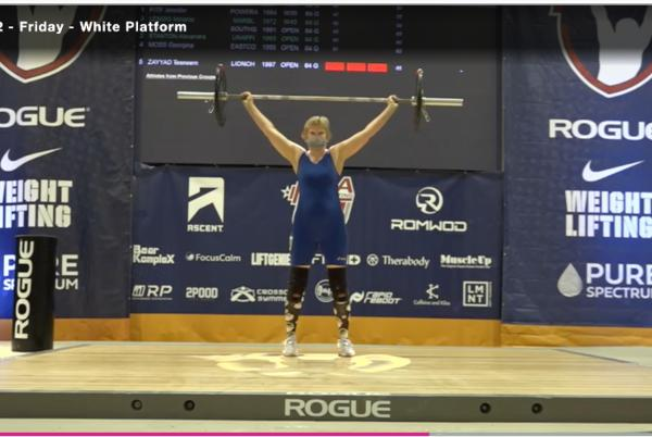 Picture for Kim Granzow Qualifies In Weightlifting For World Masters Games In Japan