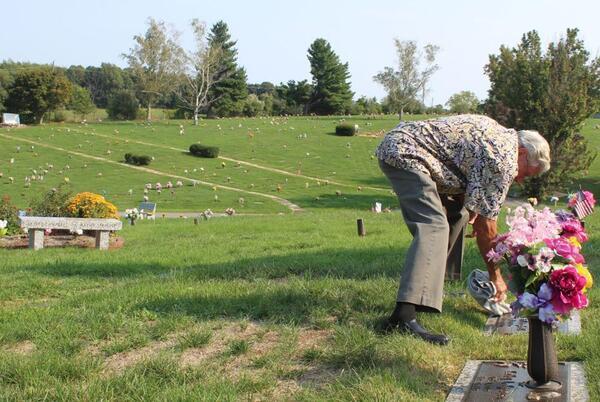 Picture for Waynesboro parents plea for return of daughter's gravestone statue