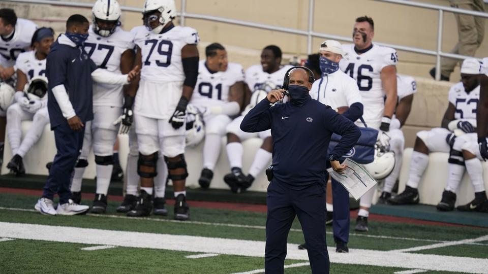 Penn State tumbles in latest polls; Lions are an underdog ...