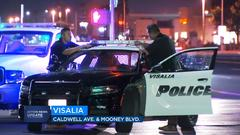 Cover for UPDATE: 1 killed in car-to-car shooting in Visalia