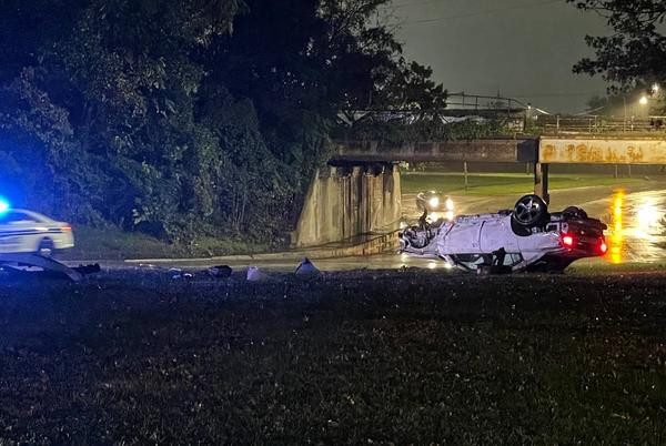 Picture for One person shot after rollover crash in Toledo