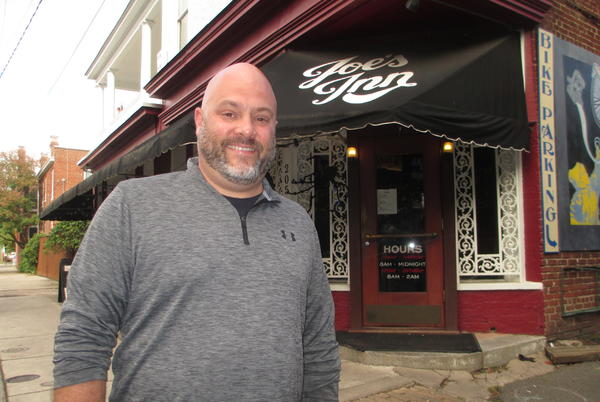 Picture for At Joe's Inn, city-funded parklet is out