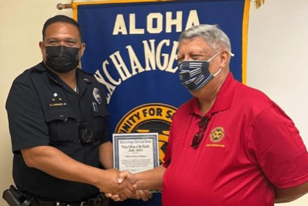 Picture for Puna Officer Recognized for Collaborative Efforts to Track Down Thieves
