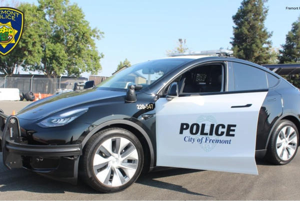 Picture for Fremont police adds Tesla Model Y to its patrol fleet