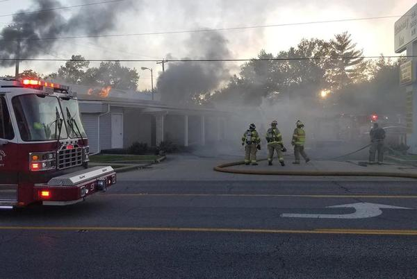 Picture for Mt. Vernon Economy Inn catches fire, investigation ongoing