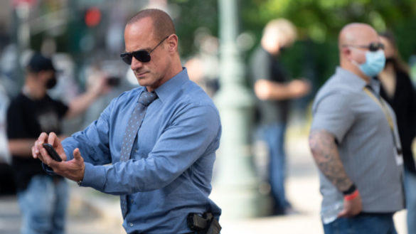 Picture for 'Law & Order: Organized Crime': Why Christopher Meloni Says Working With Actors Like Dylan McDermott Offers a 'Richer Experience