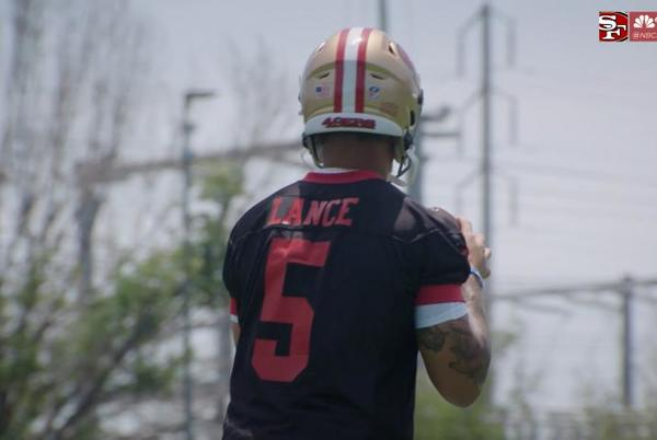 Picture for Where 49ers QB Lance ranks among rookie QBs in Madden 22