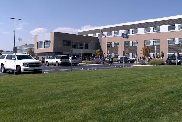 Picture for Officers respond to reports of firearms at Utah high schools on consecutive days