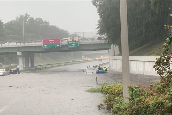 Picture for Heavy rains causing flash flooding, dangerous driving conditions in Richmond