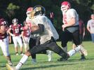 Picture for Copan Hornet football still slim on numbers but players working hard