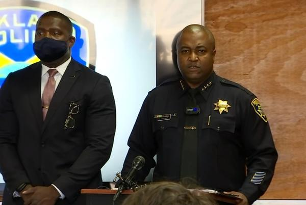 Picture for 'This has to stop': Oakland police investigating 100th homicide of 2021, chief says