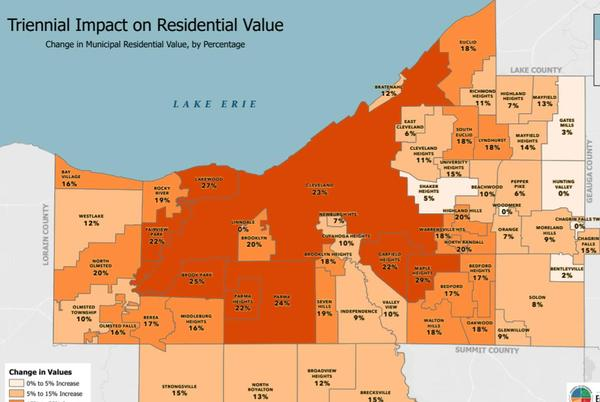 Picture for These 11 Cuyahoga County cities saw the largest increases in home values in 2021 appraisal