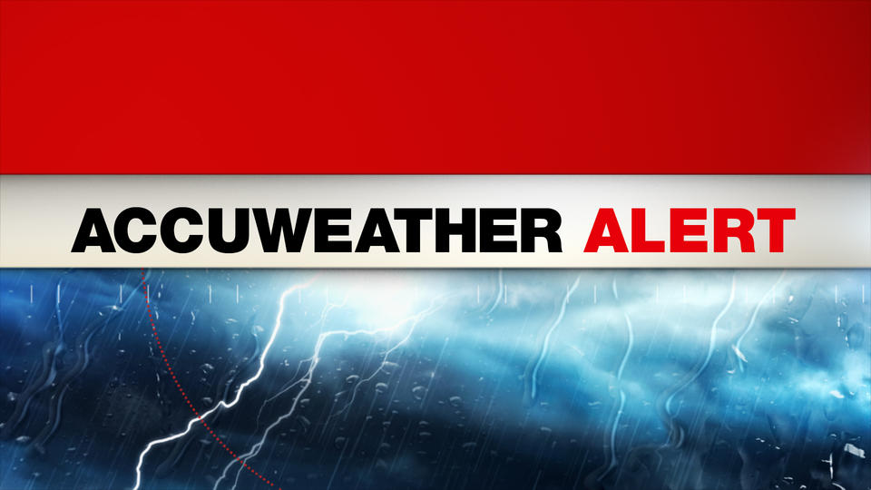 Picture for AccuWeather Alert: Powerful PM thunderstorms